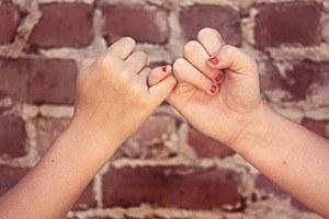 Freundeschaft Spruchdestages