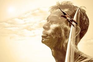Geist Gedanken Spruchdestages